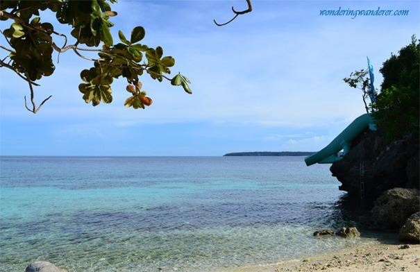 Slide of Salagdoong Beach Resort