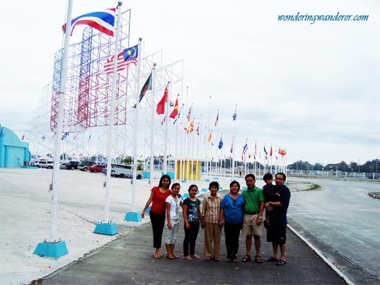 APEC Summit Flags in Clark Pampanga