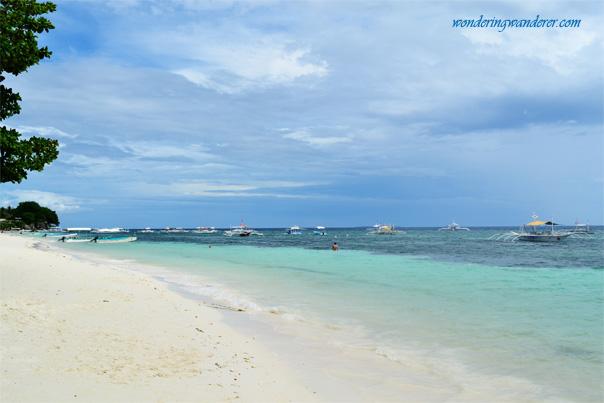 Wonderul beach in Bohol