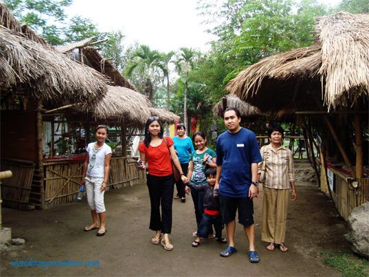 Kalinga Village is a village in a mountain. Replica in Clark Pampanga
