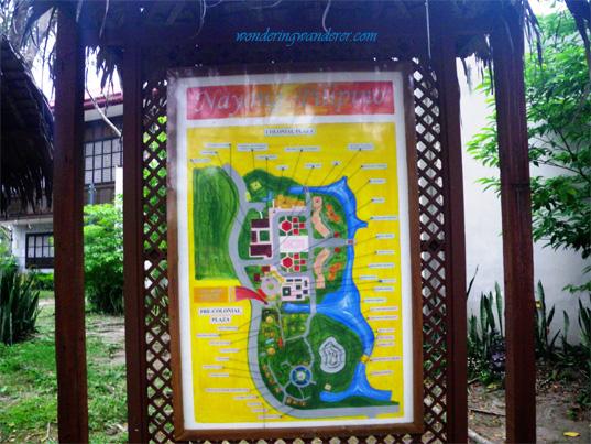Nayong Pilipino Map
