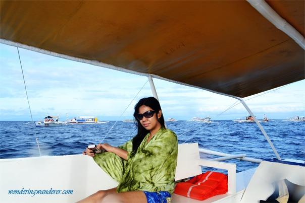 Pamilacan Island boats