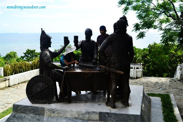 Bohol Blood Compact with Juliet and Jun in Tagbilaran City