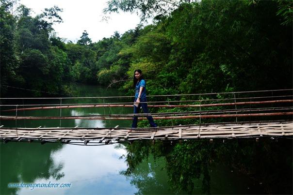 Tigbao Hanging Bridge - Bohol, Philippines
