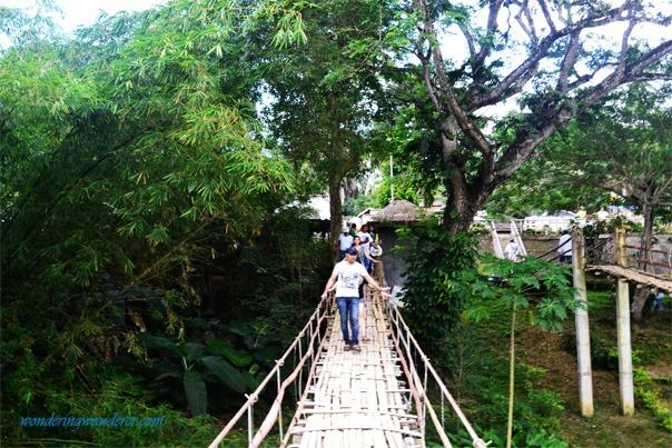 Middle Part of Hanging Bridge