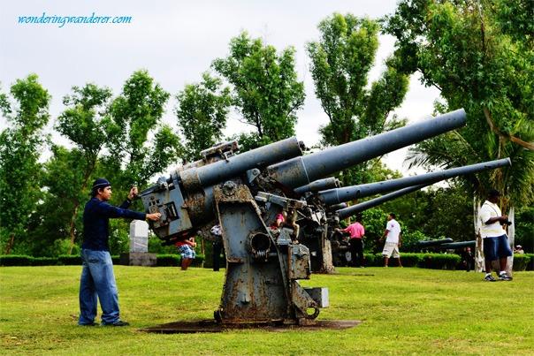 Heavy Weapons of Corregidor Island, Cavite
