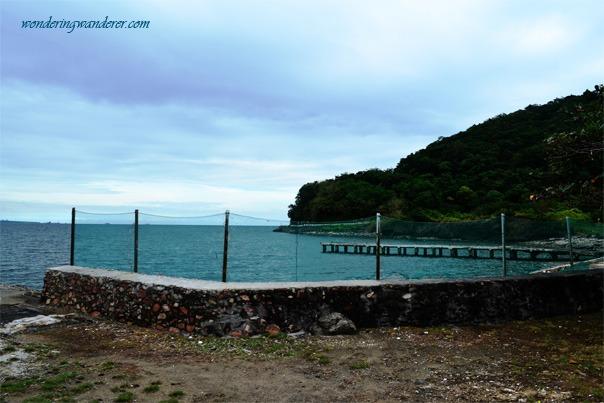 One of the best scenic views of Corregidor Island