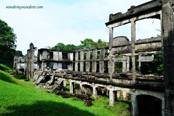Ruins in Corregidor Island: Middle Side Barracks