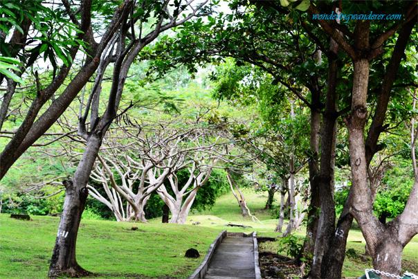 Creepy scenic views of Corregidor Island