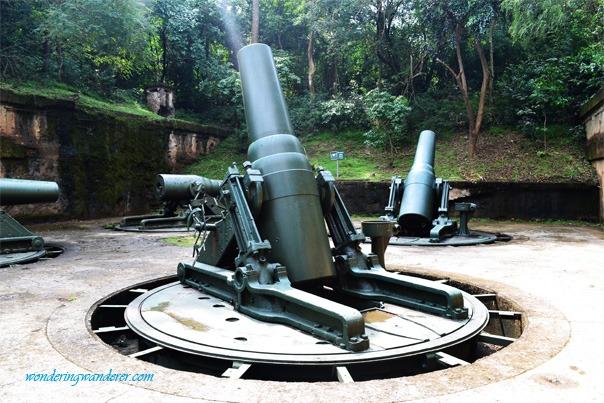 Mammoth Guns of Corregidor Island, Cavite