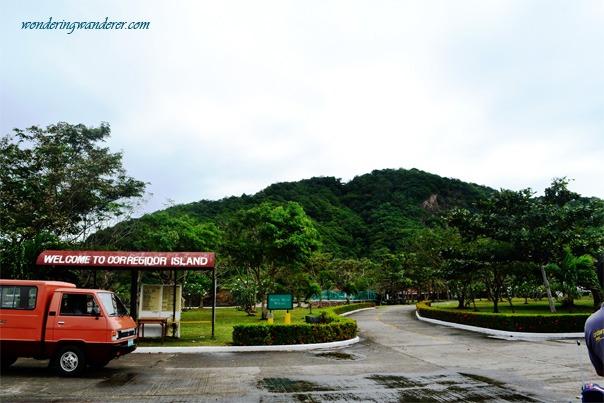 Landing at Corregidor Island