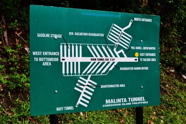 Malinta Tunnel Map