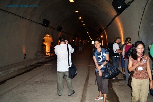 Malinta Tunnel's Lights up