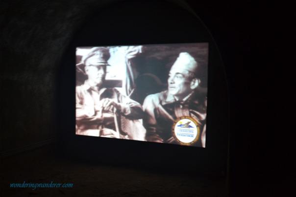Malinta Tunnel's Projector