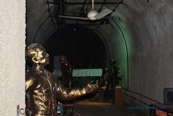 Manuel Quezon in Malinta Tunnel
