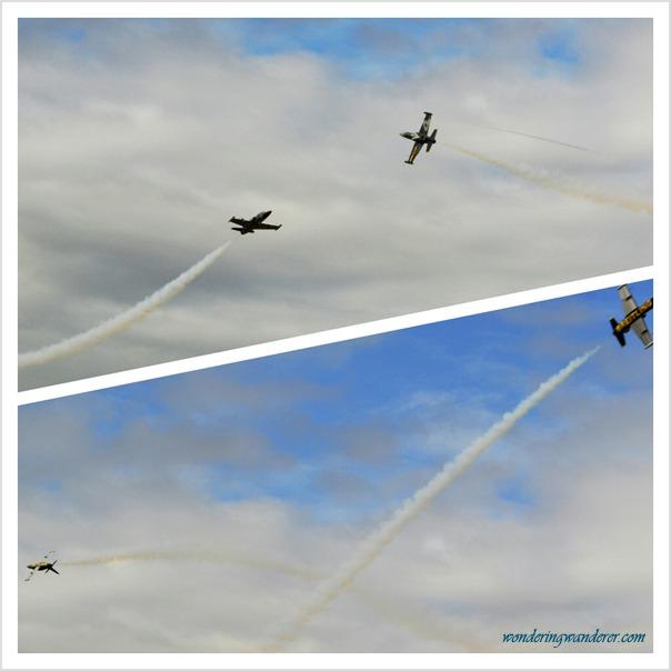 Breitling Jet Team's Stunt 1