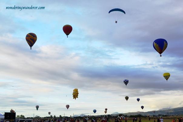 Hot Air Ballon Festival's Balloons with glider