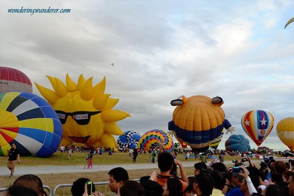 Hot Air Ballon Festival's Colorful Balloons