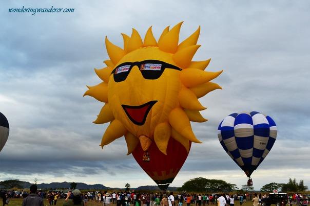 Hot Air Ballon Festival's Sun
