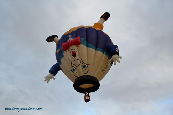 Hot Air Balloon Festival's Humpty Dumpty