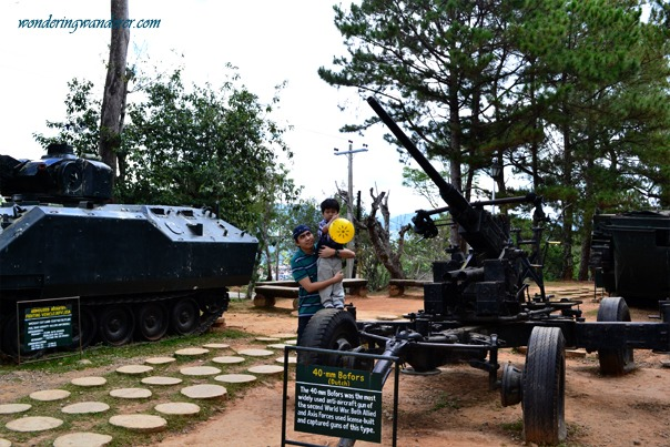 The Armed Forces Tanks in Philippine Military Academy