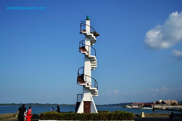 Lighthouse in Lucap Wharf Alaminos City, Pangasinan