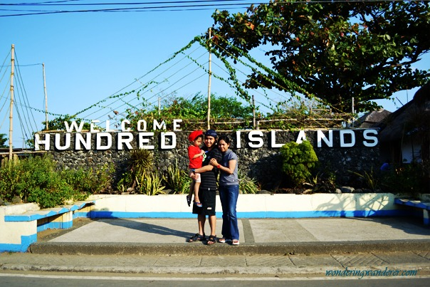 Hundred Islands Pangasinan Welcome