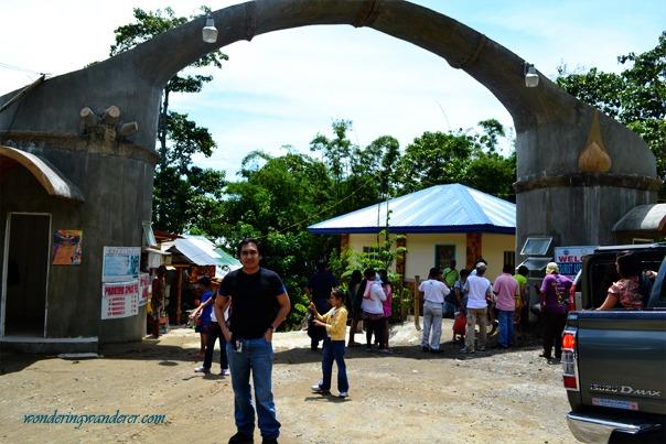 Lake Sebu's Seven Falls Entrance