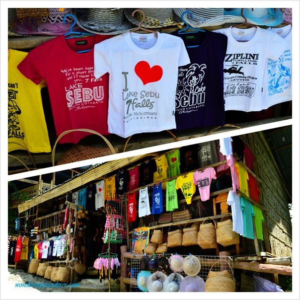Lake Sebu's Souvenir Shop with zipline designs
