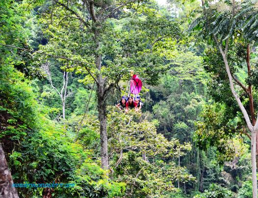 Lake Sebu's zipline