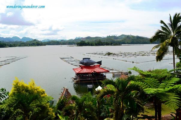 punta isla resort floating restaurant and tilapia dishes