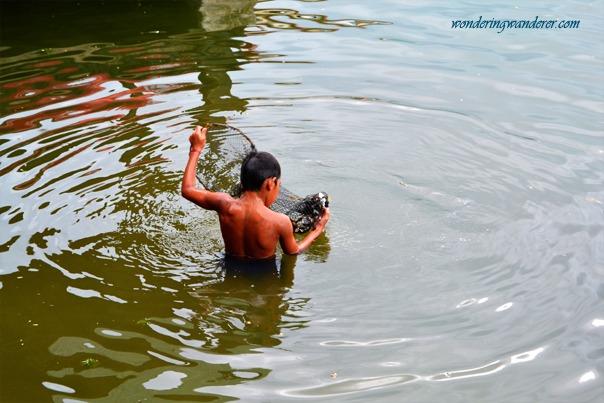 Punta Isla Resort's Kid Collecting Shells