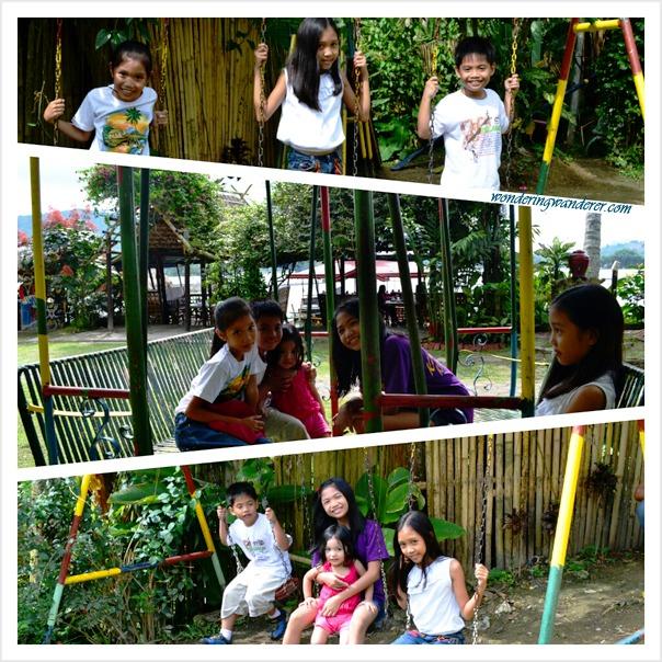 Punta Isla Resort's Swings - Lake Sebu, South Cotabato