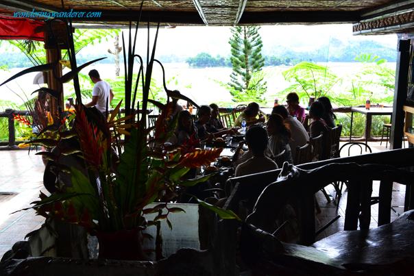Punta Isla Resort's Upper Deck Restaurant Lake Sebu, South Cotabato