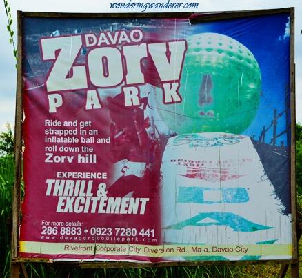 Zorv Park Poster - Davao City