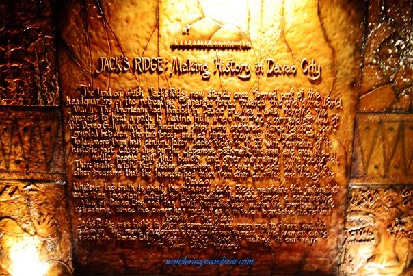 Jack's Ridge History - Davao City