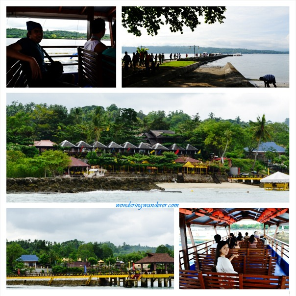 Pearl Farm Davao City - Boat ride