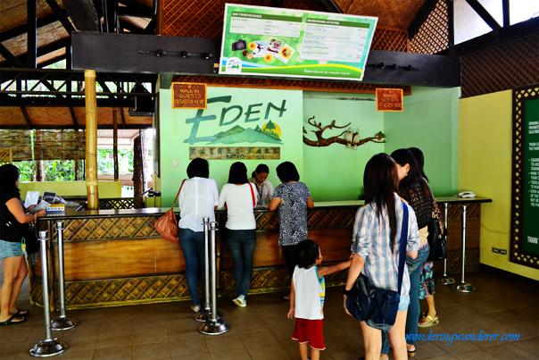 Eden Nature Park Entrance - Davao City