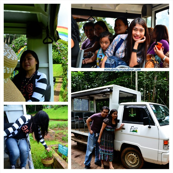 Eden Nature Park Tourist Minivan - Davao City
