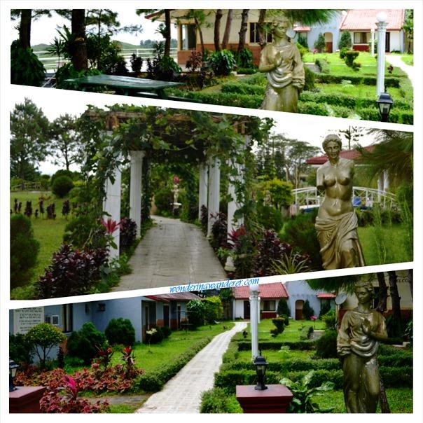 Sierra Madre Hotel and Resort - Tanay, Rizal Greek-themed Garden
