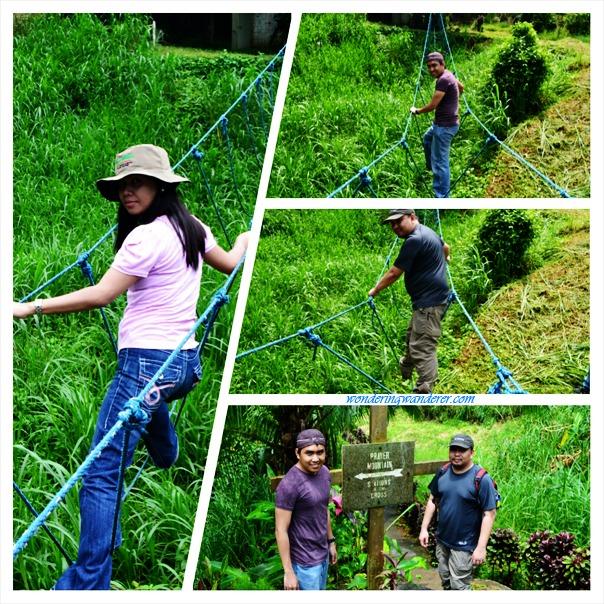 Sierra Madre Hotel and Resort - Tanay, Rizal Rope Bridge