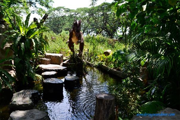 Dinosaurs Island - Clark, Pampanga Dilophosaurus