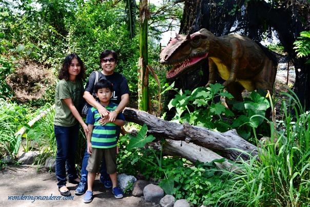Dinosaurs Island - Clark, Pampanga Trio with Dino