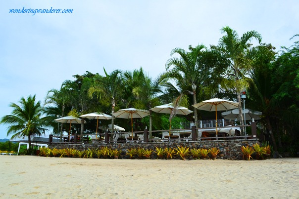 Laiya Beach Resort - White Cove Umbrellas