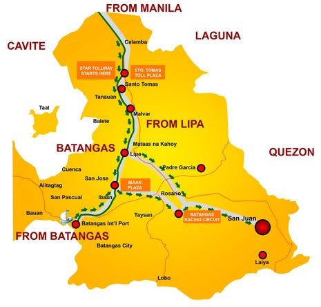 Laiya Map