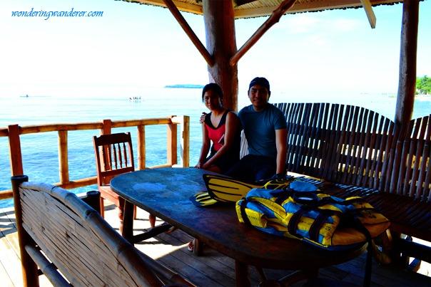 Whale Shark Watching Viewing Deck - Oslob, Cebu