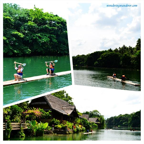 Villa Escudero's Bamboo Rafting