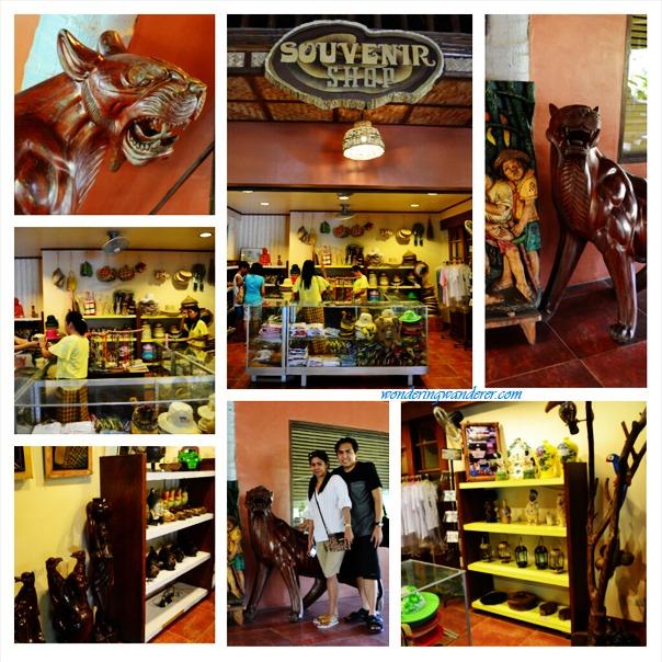 Villa Escudero's Souvenir Shop
