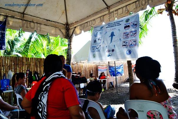 Whale Shark Interaction Guidelines - Oslob, Cebu