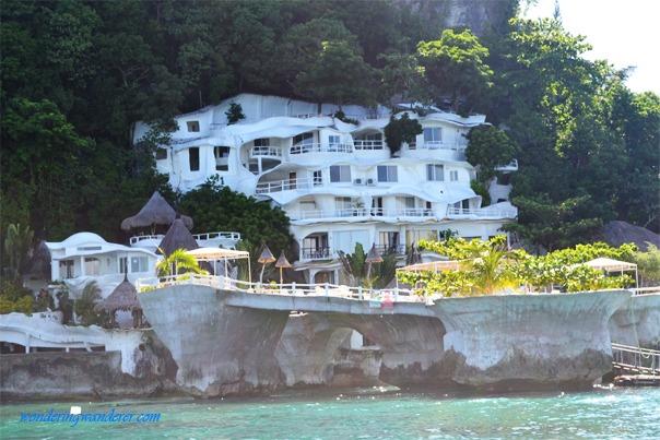 A grandiose resort